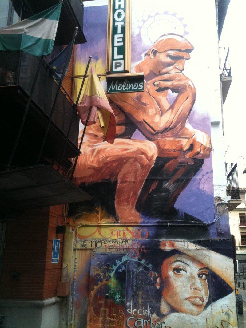 Grafiti del NIño de las Pinturas Realejo