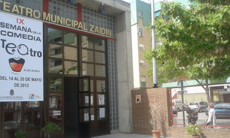 Teatro del centro cívico del Zaidín.