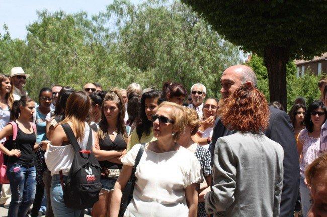 Homenaje a Paco Tarragona en el IES Virgen de las Nieves