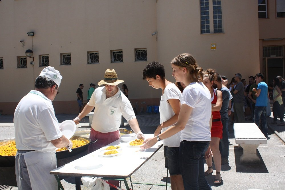Paella fin de curso Virgen de las Nieves