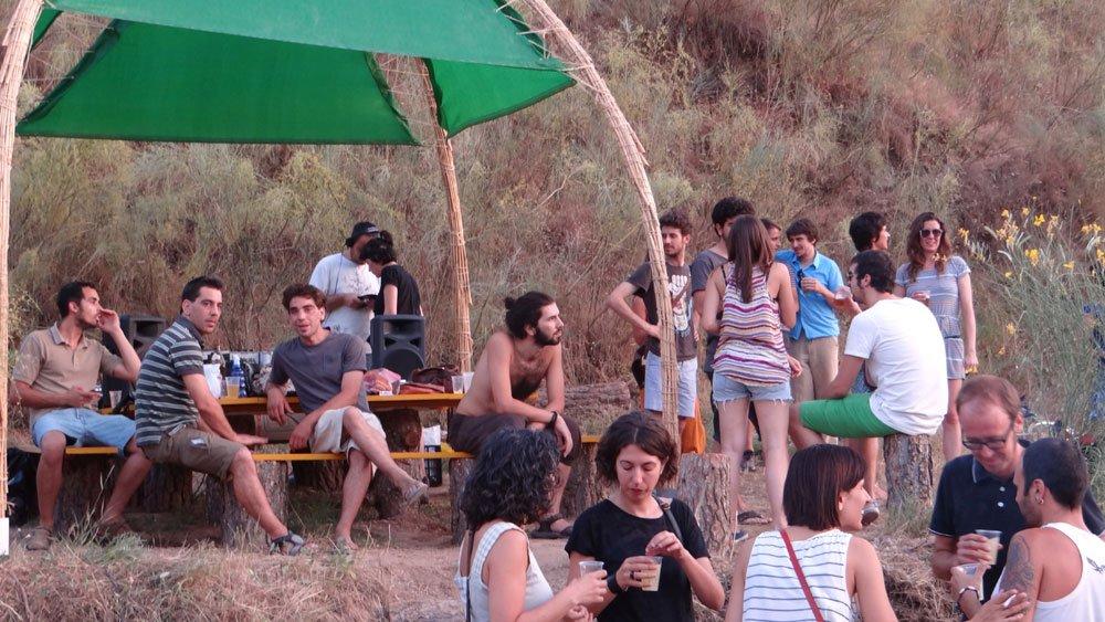 huertos ribera del beiro parados casería de montijo percula fiesta