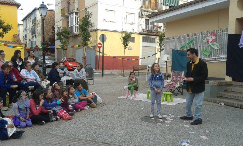 Actuación de Verme en una de las fiestas reivindicativas de la plataforma no al cierre de Palomas.