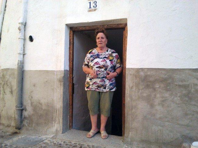 Pepa en su casa del Albaicín