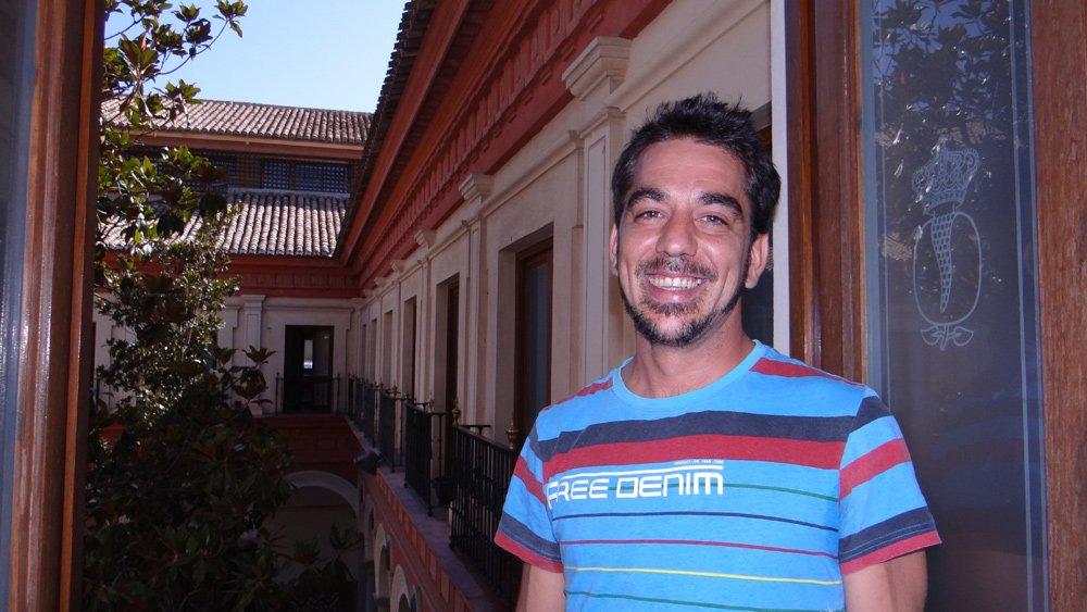 Óscar González cocinero de Casería de Montijo