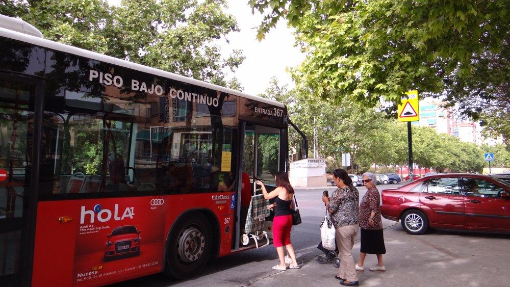 línea 5 bus urbano granada