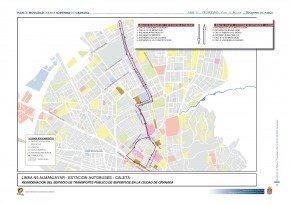 línea n5 plan movilidad ayuntamiento de granada