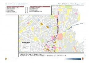 Línea N6 plan de movilidad del ayuntamiento de Granada