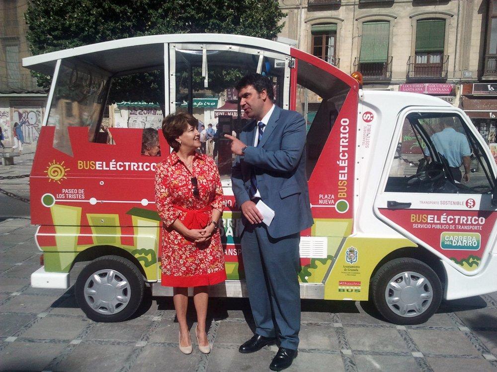 Minibus eléctrico
