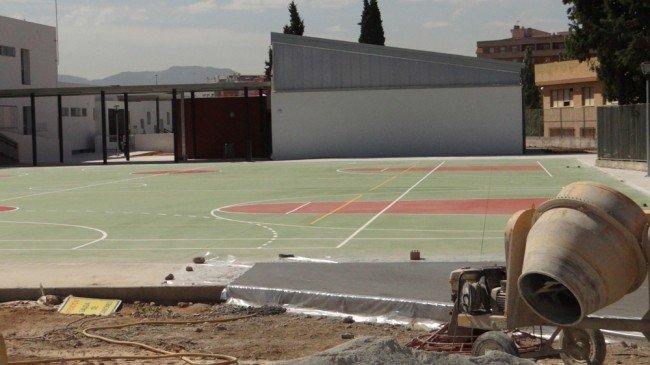 obras colegio CEIP Almunia