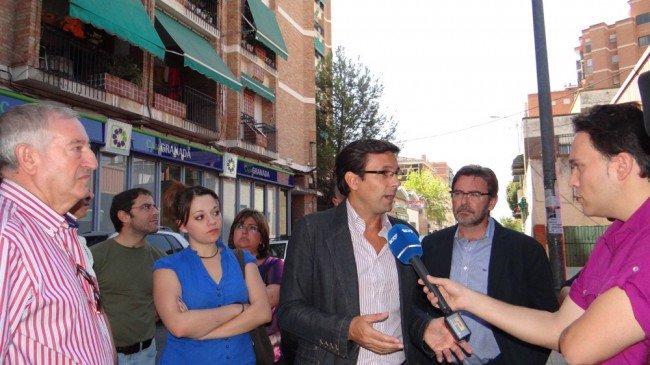 Brígido sigue las declaraciones del portavoz del PSOE a TG7 sobre la situación en Campo Verde.