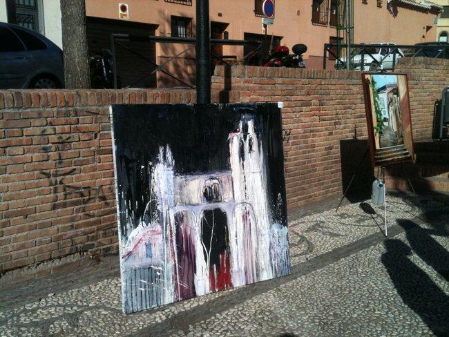 Certamen de Pintura al Aire Libre del Realejo, Granada, Antonio Claudio Reinero