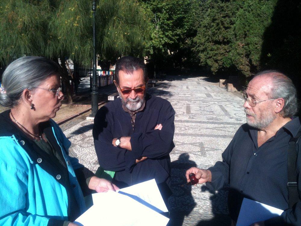 Yayoflautas Granada en el Campo del Príncipe. Foto: GranadaiMedia