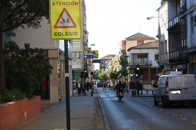 Calle Sagrada Familia de la Chana, Granada