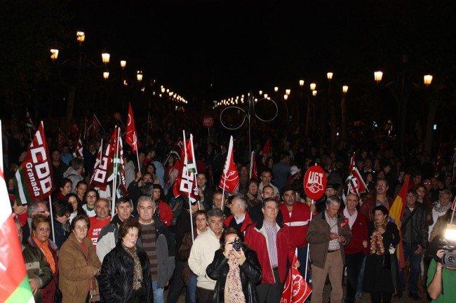 Manifestación del 14N en Granada