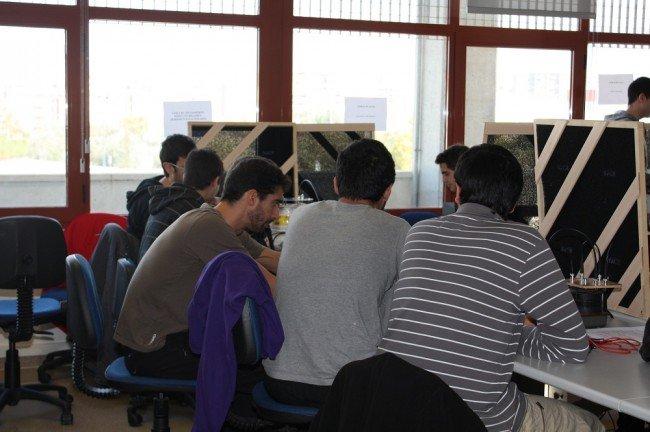 Laboratorio de la ETSIIT (UGR)