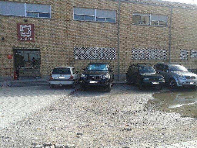 Sede de Transportes Rober, ubicada en el Zaidín