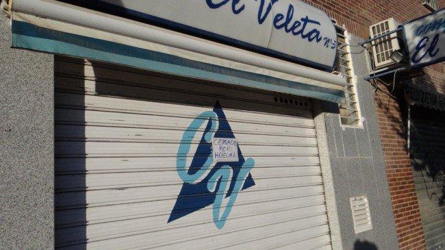 negocio cerrado huelga general 14N zona norte granada