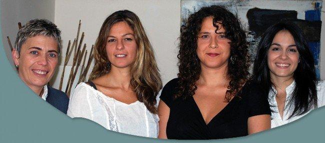 María del Mar Pascual Garrido, Isora Cabrera Ayuso, Yaiza Marrero Vega, Jade Olmos Juárez