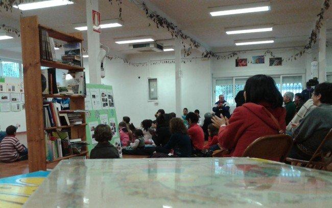 biblioteca de las Palomas