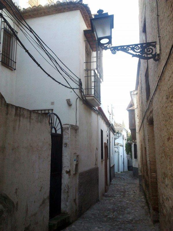 Vivienda reformada en la calle Buenaventura objeto de la sanción