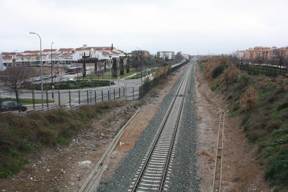 Zona en la que se construirá la estación del AVE de Granada