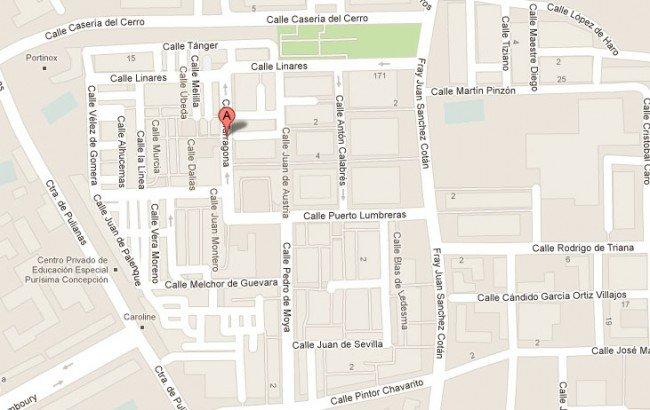 calle tarragona barriada de la paz zona norte granada