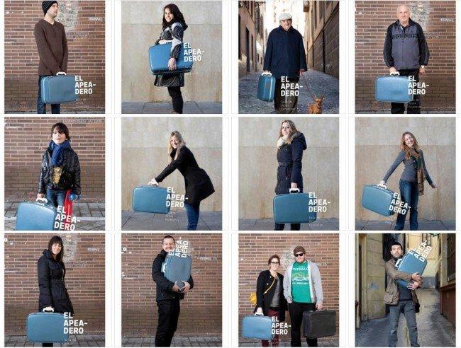 Fotos El Apeadero, maleta