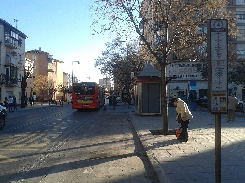 parada de bus Sol y Luna