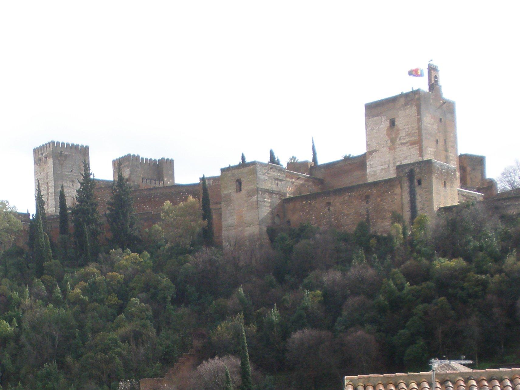 Alhambra tren ecológico centro