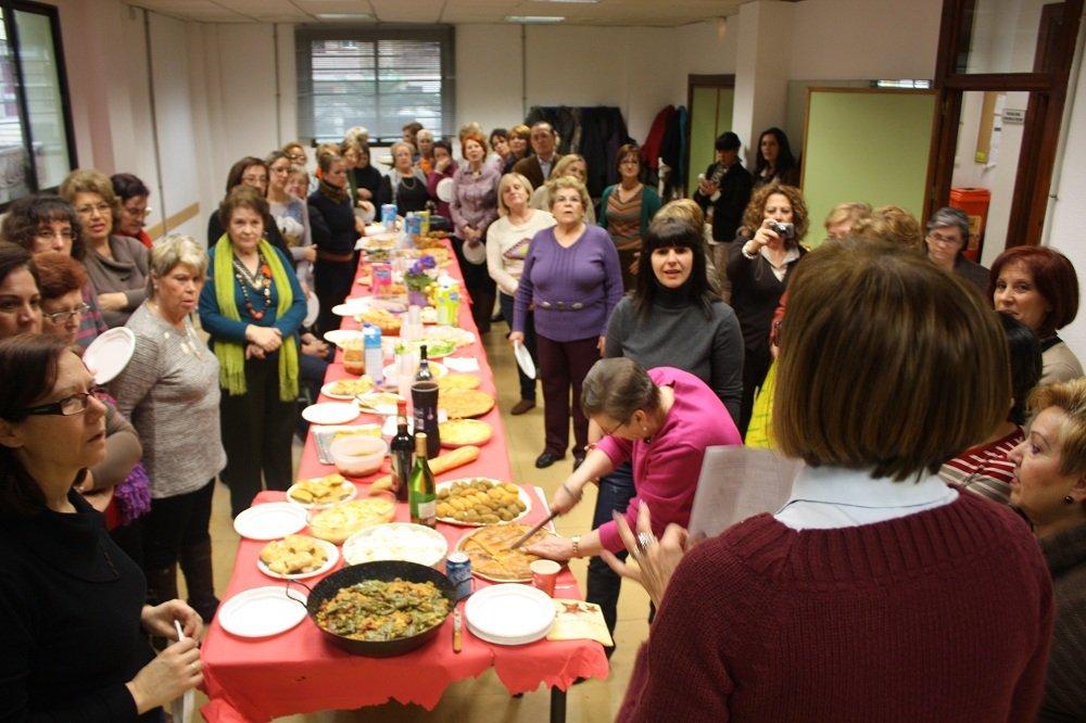 Jornadas gastronómicas del Grupo Motor de Mujeres de a Chana