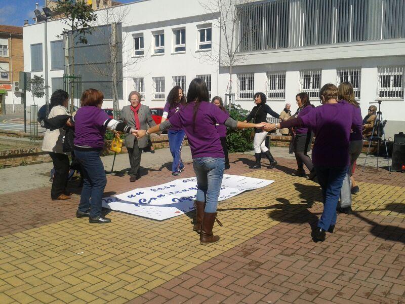 Día Internacional de la Mujer, centro de Servicios Sociales de la Chana