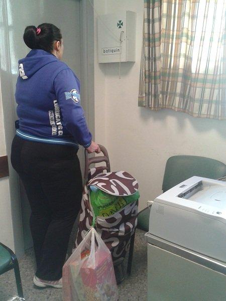 banco de alimentos de emergencia en el Zaidín