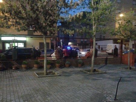 policía local en la junta de distrito del Zaidín