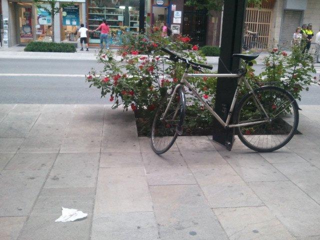 Granada al Pedal bicicletas Gran Vía