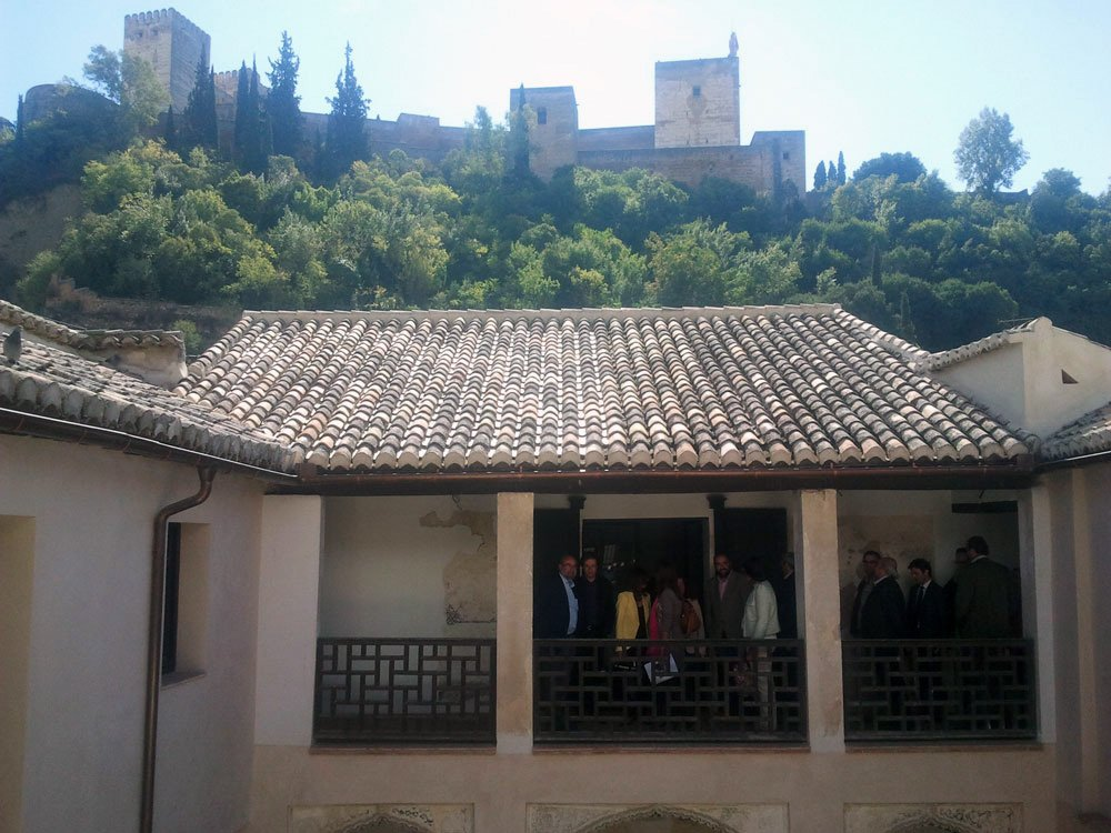 casa de Zafra, centro interpretación del Albaicín