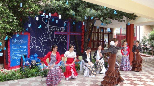 cruces mayo sección escolar concurso accesit 2013 zona norte granada