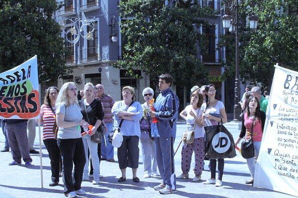 protesta vecinos de santa-adela