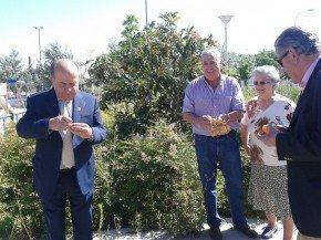 Visita alcalde de Granada a Bobadilla