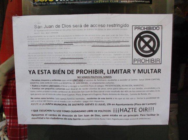 San Juan de Dios Plan Movilidad