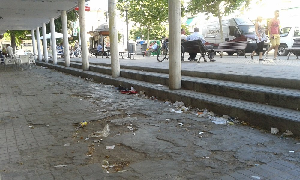 Plaza de las Columnas.