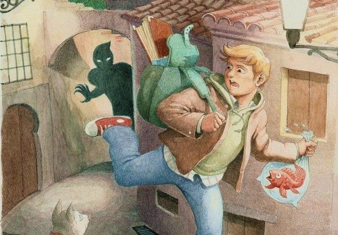 Fragmento de la portada de 'Elías y los ladrones de magia'