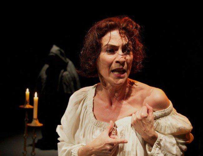 Gema Matarranz, interpretando a 'Juana, la Loca'.