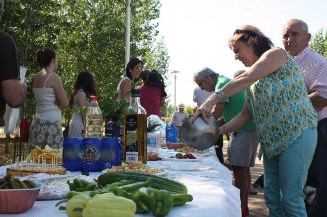 Fiesta en los huertos del Parque de las Alquerías