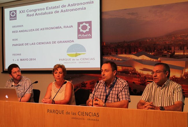 Presentación del XXI Congreso Estatal de Astronomía