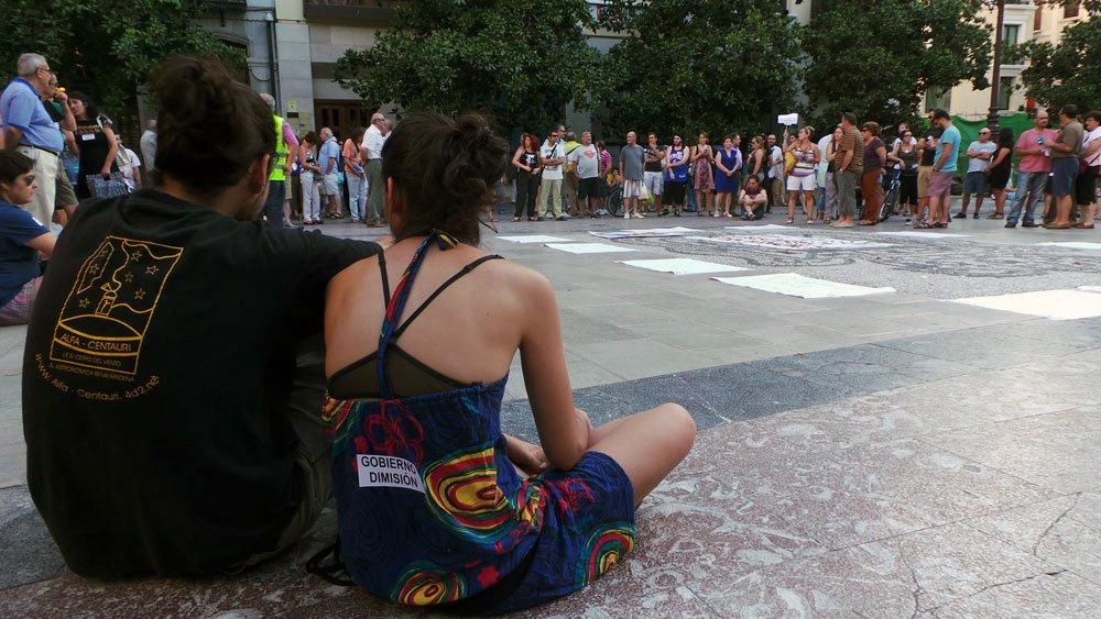 protesta, 15M, Plaza del Carmen, Granada, corrupción