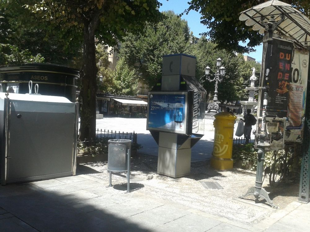 Bib-Rambla mobiliario urbano