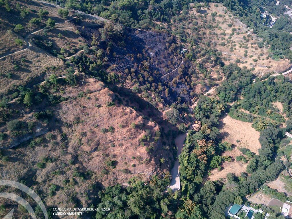 Fuego en la Alhambra, Plan Infoca