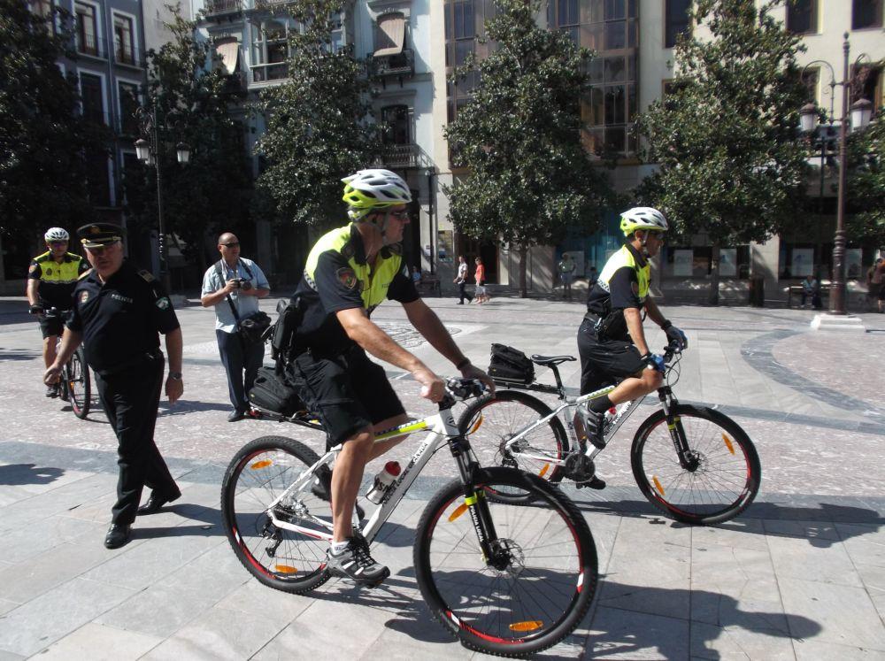 Unidad Ciclista Policía Local Granada