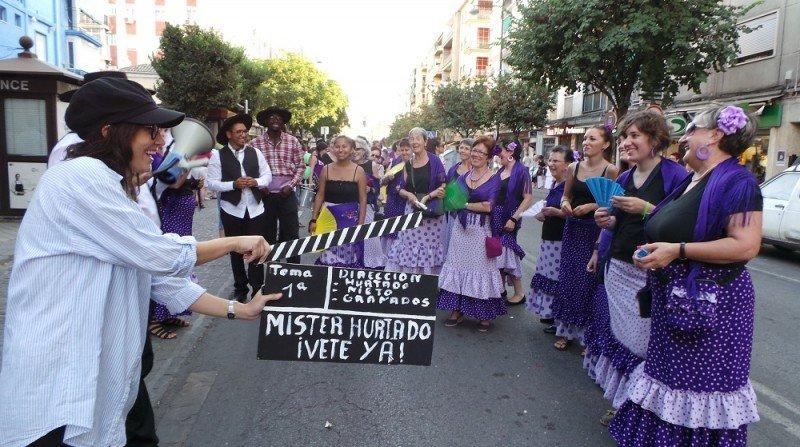 pasacalles fiestas del zaidin 2013