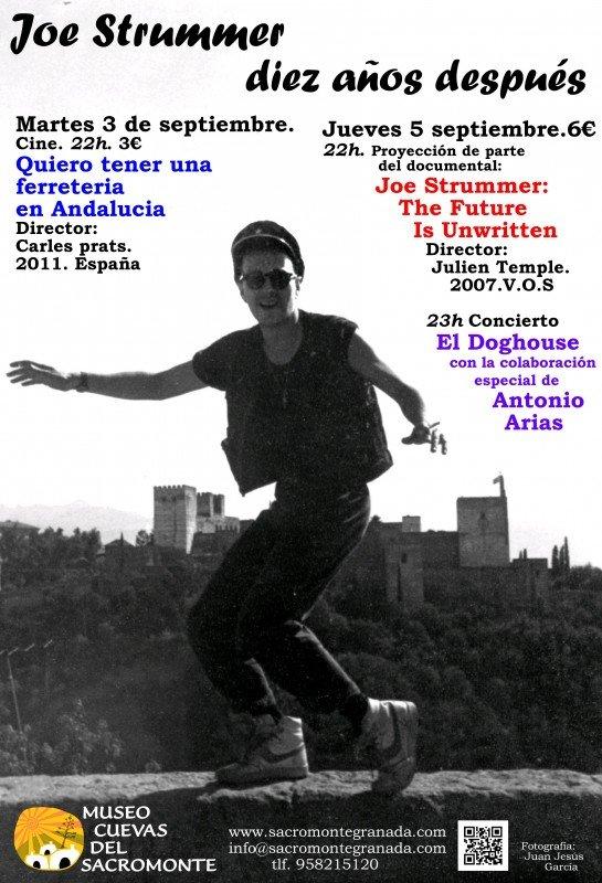Joe Strummer, Alhambra, Sacromonte